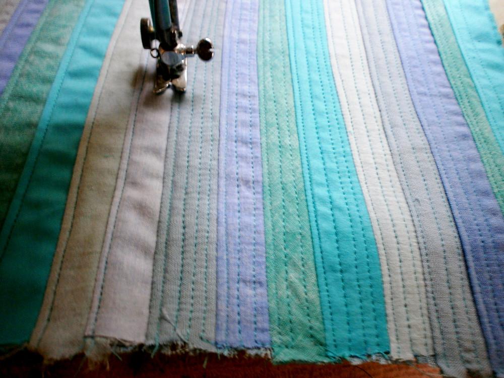Ocean blues quilt