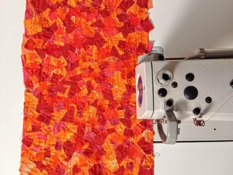 Orange Mosaic Patchwork