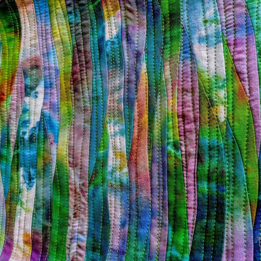 Wave landscape patchwork