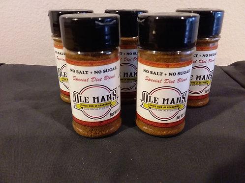 Ole Man's Spice Rub Grilling Bundle Original Blend. Free Shipping! Buy 2 Get 1 F