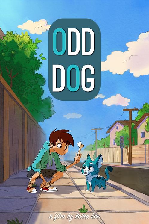 """Odd Dog"" Poster"
