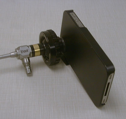 Storz Endoscope Iphone Coupler.JPG