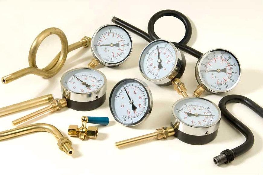 Pressure gauges and sensors