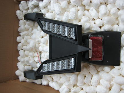 LED assembly - motorcycle taillight