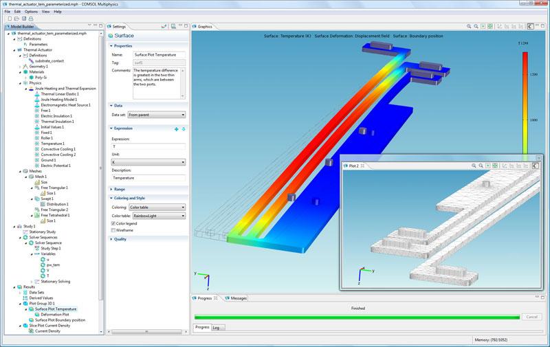 MEMS & Microfluidics Design & Development