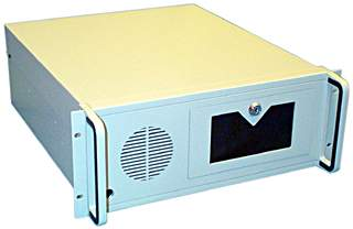19 inch rack mount PC case