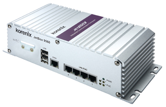 JetBox 9560 5-Port Vehicle PoE Routing Computer