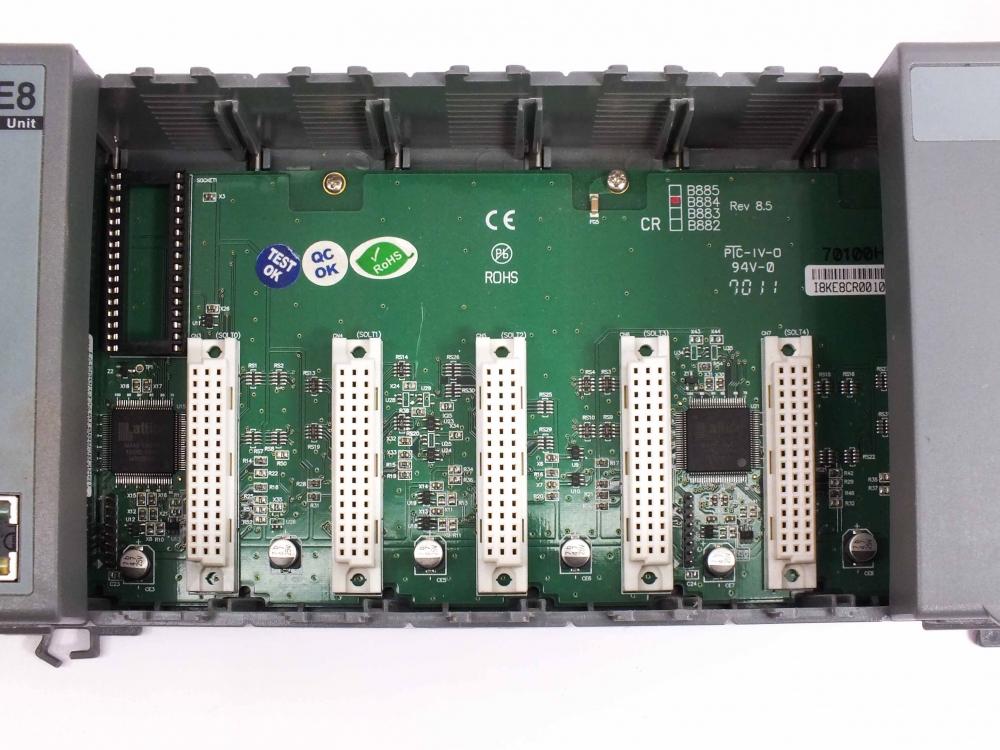 ICP-DAS Embedded Ethernet IO Unit PLC Industrial with Backplane