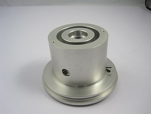 CNC turning of a stainless steel part