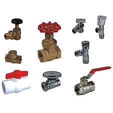 Liquid and gas delivery, pneumatic, hydraulic, valves, fittings