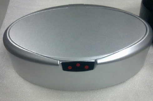 Eyeglass Case with Motion Detectors AGS-TECH, Inc.