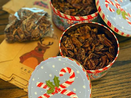 Recipe: Cinnamon Pecans