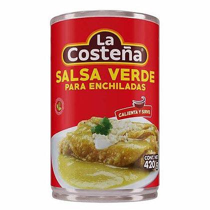 La Costena Salsa verde for Enchiladas 420g