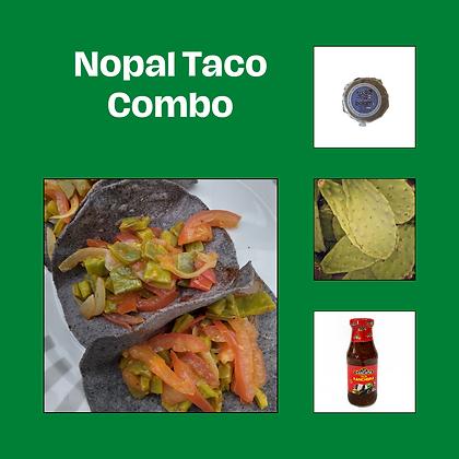 Nopal Taco Combo