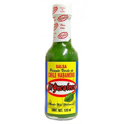 Habanero Green hot salsa 120 ml