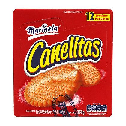 Marinela Canelitas 12 packs/30g each
