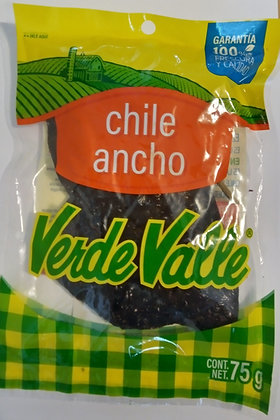 Verde Valle Dried Ancho Chili 75g