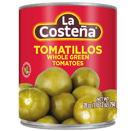 La Costeña Whole Green Tomatillo 794g