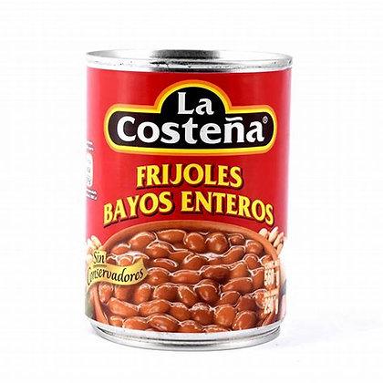 Whole Bayo beans La costena  560gr