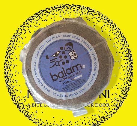 Balam Nixtamilized Blue Corn Tortilla