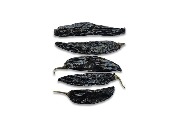 Whole Dried Pasilla Chile 1Kg