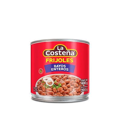 La Costeña Whole Bayo Beans 400g