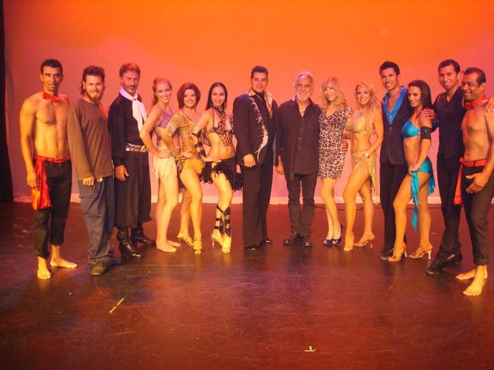 Latin Dance Fire Show Cast