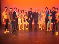 Latin Dance Fire Show Cast