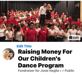 Raising funds for our children's Latin dance program