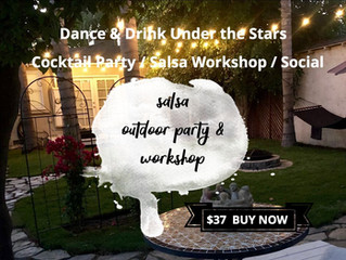 Sun Dec 15th: Outdoor Cocktail Party + 2-Hour Salsa Workshop + Bonfire