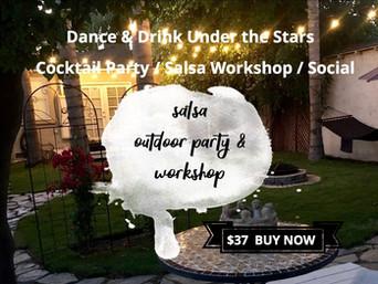 Sun Dec 15th: Outdoor Cocktail Party + 2-Hour Salsa Workshop + Bonfire