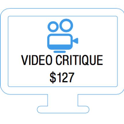 Video Critique from Josie Neglia