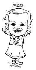 Hannah Caricature