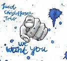 "Jacob Christoffersen ""We wnat you"""