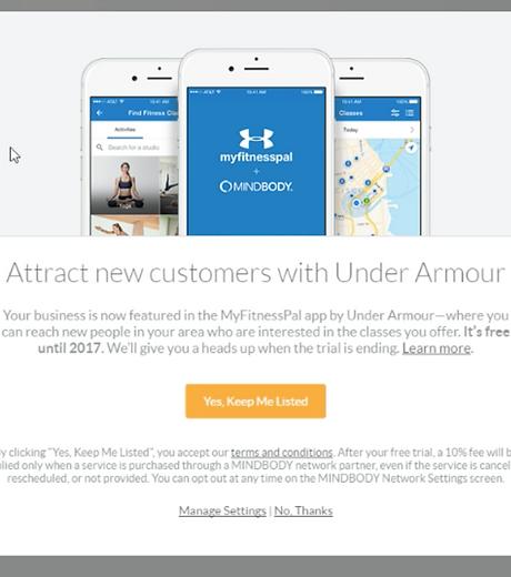 Under Armour Lightbox