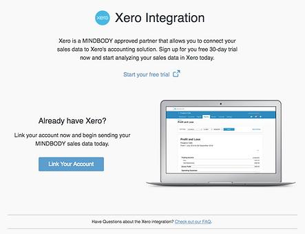 Xero Integration