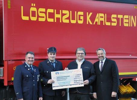 2.500 Euro für neue Feuerwache