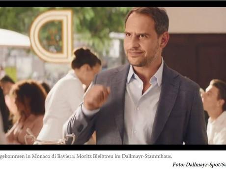 Moritz Bleibtreu macht Werbung für Haas-Möbel