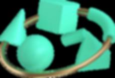3D幾何学形状