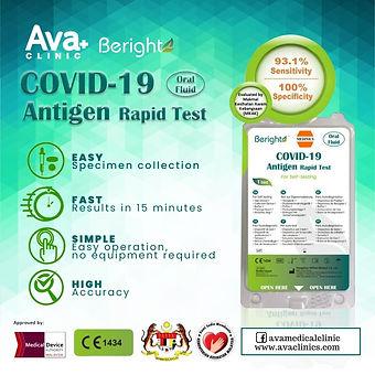 Covid Self Test Kit Beright