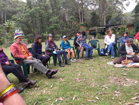 Spring Renewal Retreat at Jamanee Gunya, NSW, October 2018