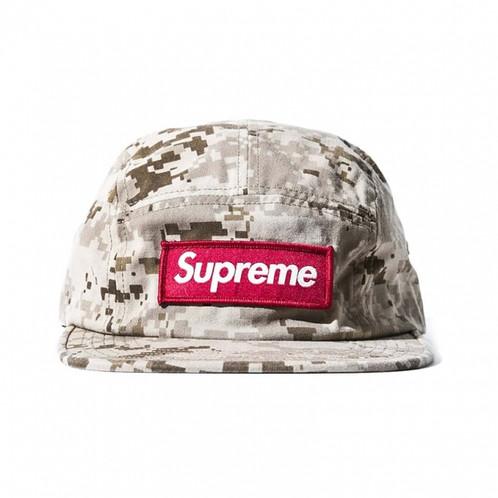 7b7f23dd Supreme / NYCO TWILL CAMP CAP DIGITAL CAMO