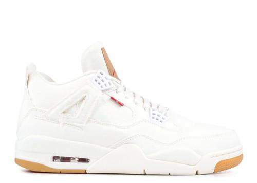 16740d64bf3ecf Air Jordan 4 Retro Levis White
