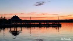 Sunset by the Pier 4 Kiosk - 08 Jun 2020