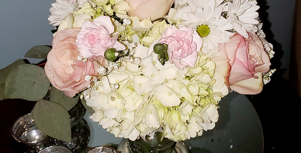 Blushing Daisy and Rose