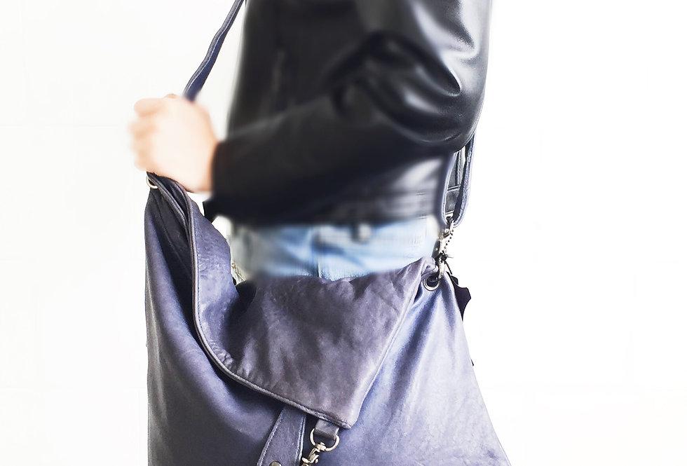 韓式羊皮斜背包