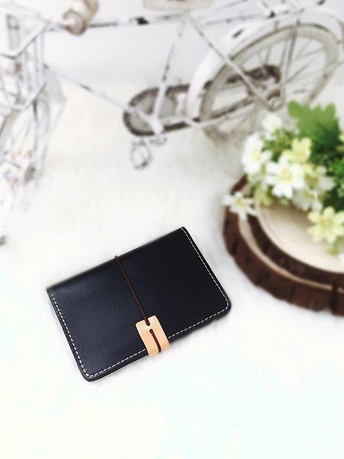 韓式手工款真皮護照夾(#A9CK05)