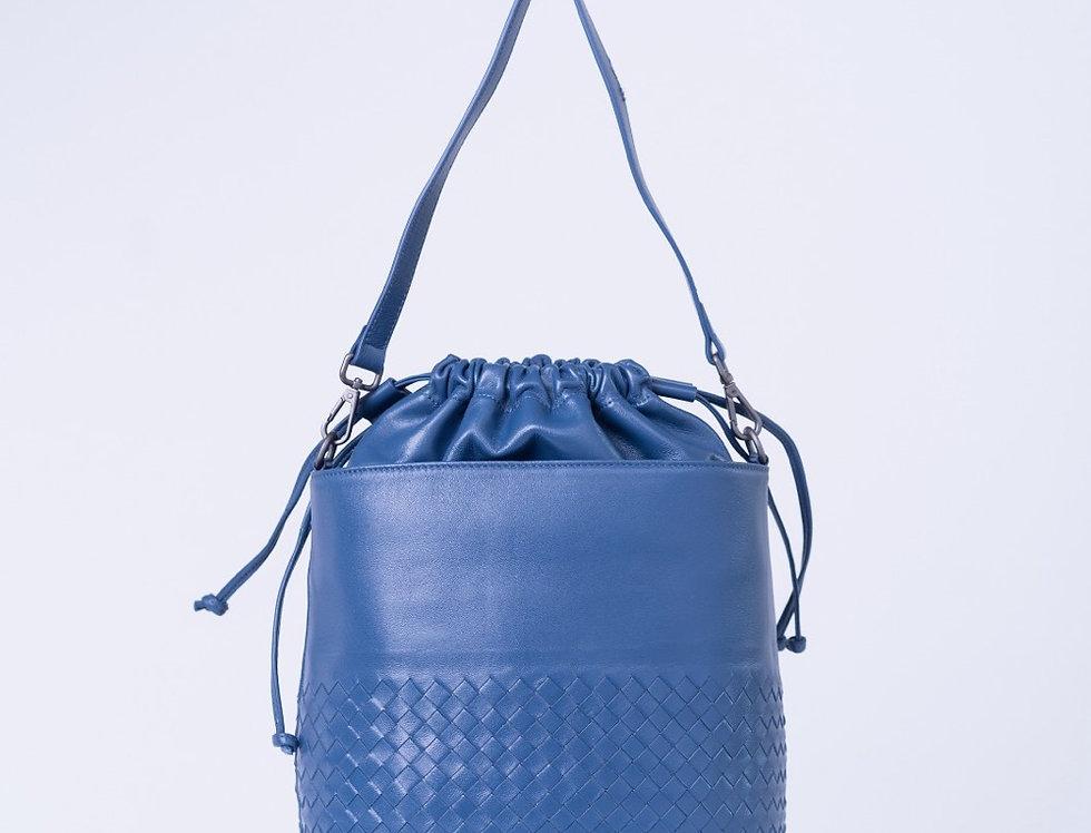 手工編織水筒型斜背包