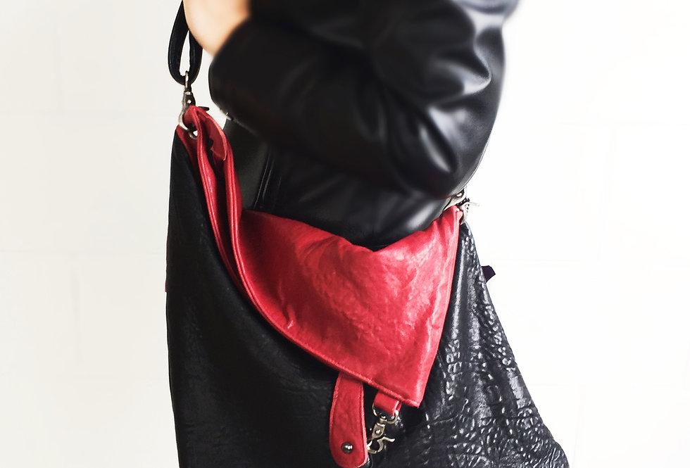 韓式羊皮斜揹包