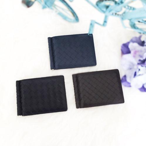 手工編織紙幣卡片羊皮包(#CF01)